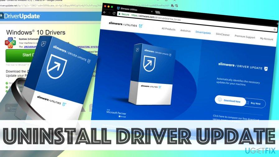 Remove Driver Update by SlimWare Utilities