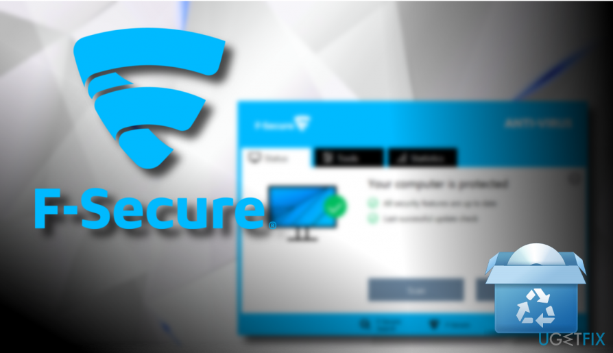 Uninstall F-Secure antivirus
