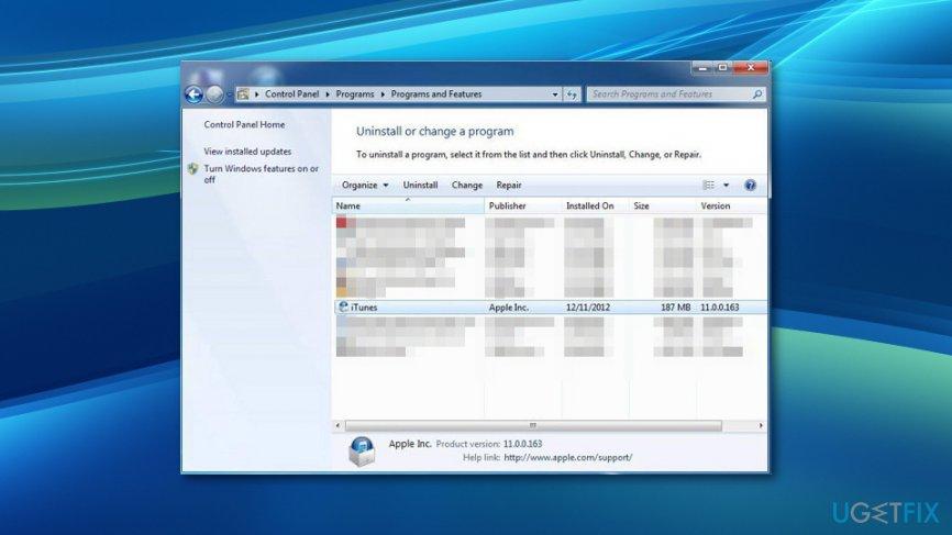 How to fix iTunes exe Bad Image error on Windows 10?