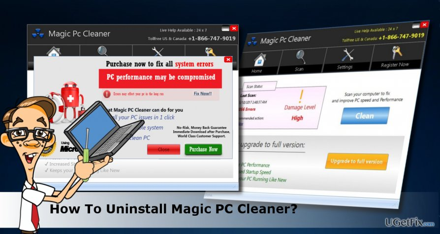 a picture of Magic PC Cleaner scanner