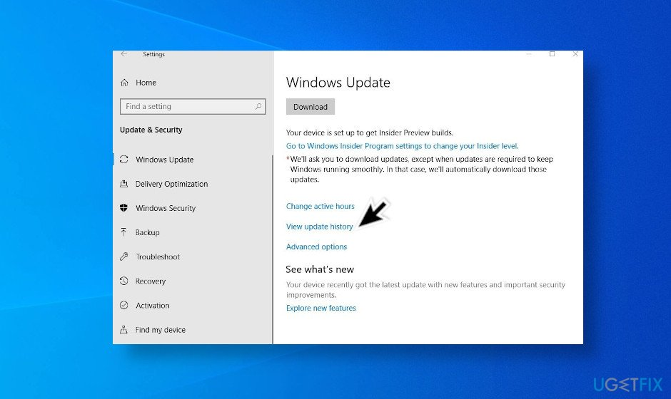 Delete the latest Windows 10 updates to fix printer problems
