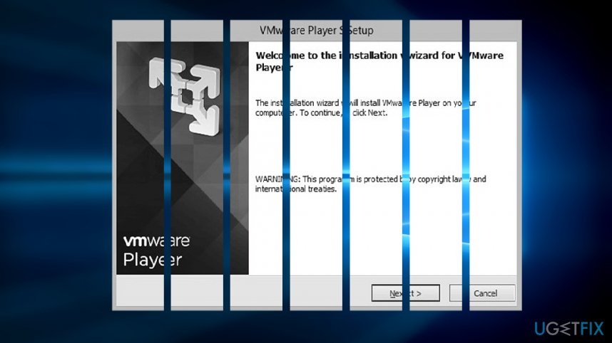 Uninstall Vmware Player