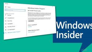 How to Uninstall Windows Insider Program?