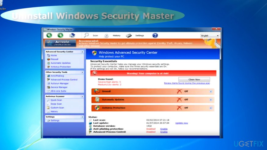 Windows Security Master scares users with fake alerts