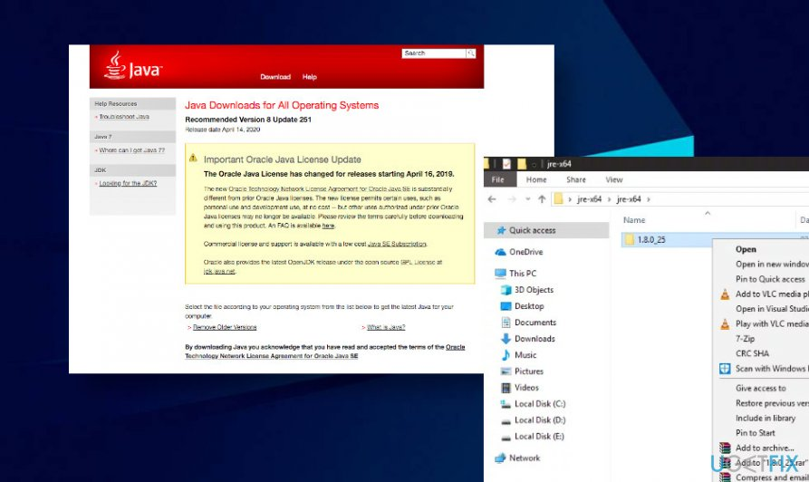 Install latest Java updates