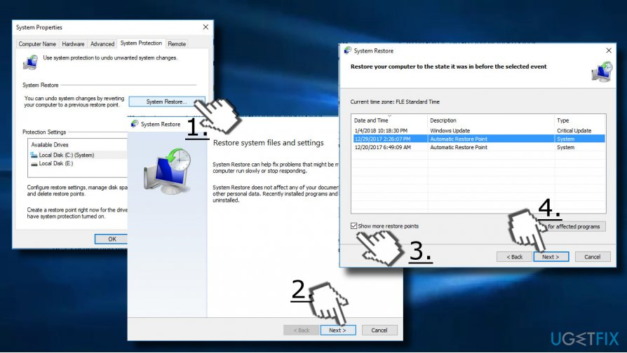 Enable a System Restore Point