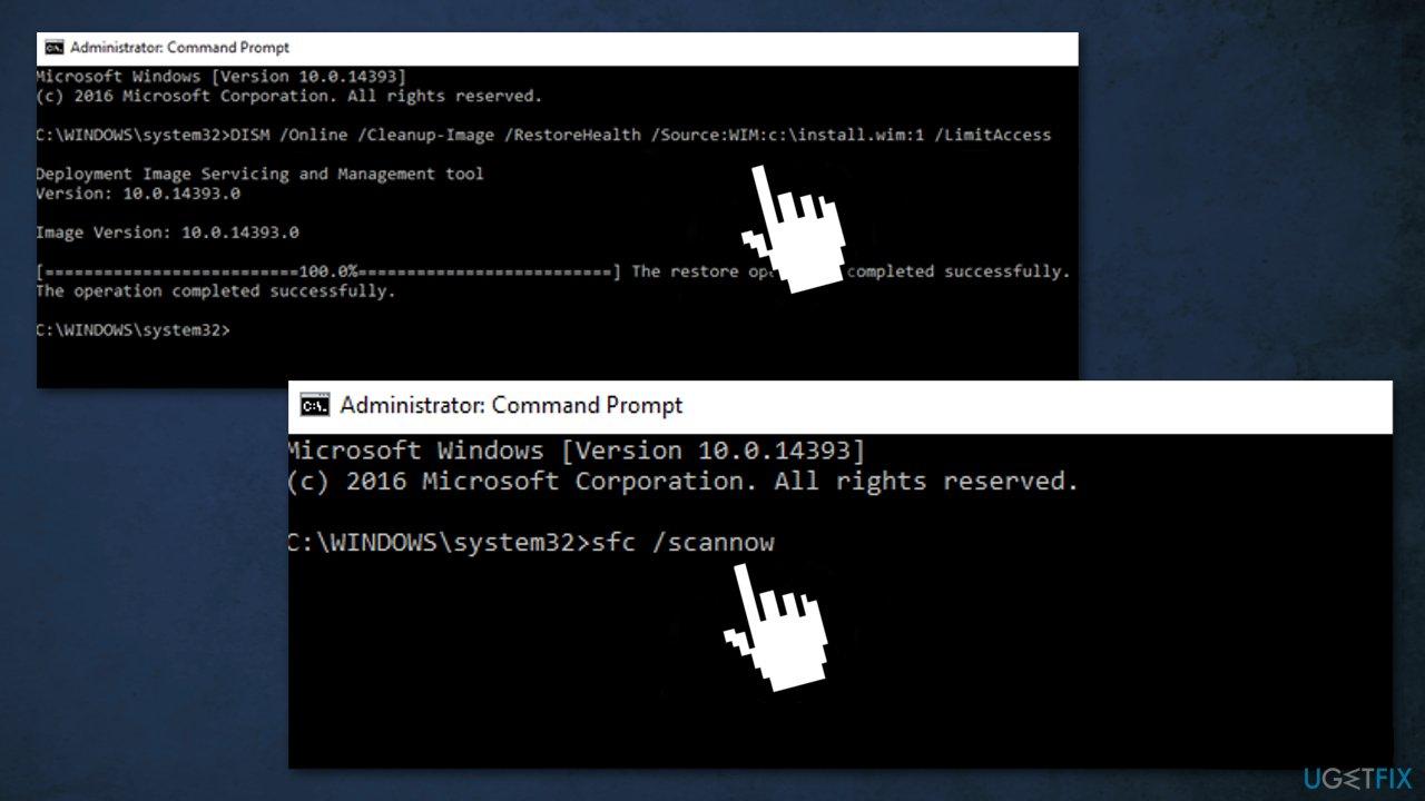 Use Windows installation media in ISO format5
