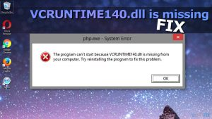 How to Fix VCRUNTIME140.dll is Missing Error on Windows?