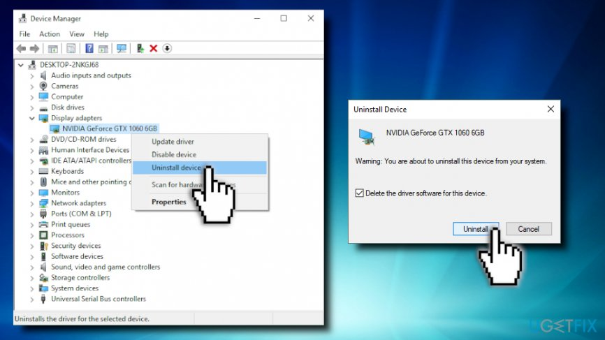 How To Delete Video Card Drivers How to Enter Safe Mode and