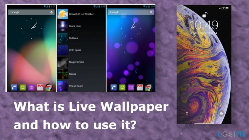 What is Live Wallpaper and how to use it