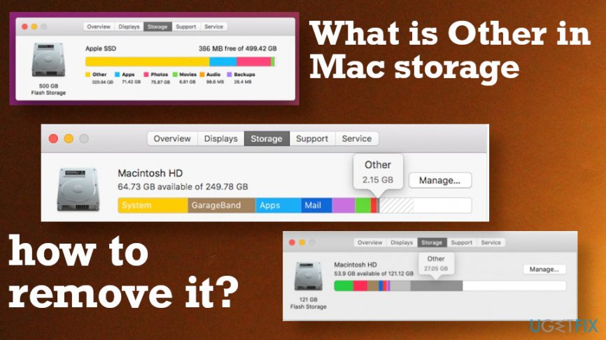 What is other storage on Mac OS