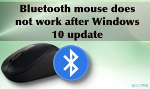 How to fix Bluetooth mouse not working after Windows update?