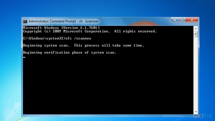 Repair damaged files with System File Checker