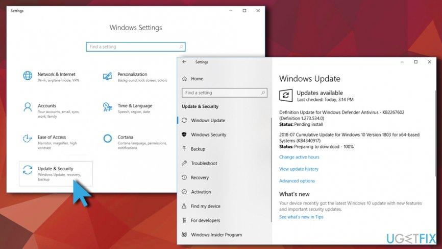 igfxTray.exe error - update Windows OS