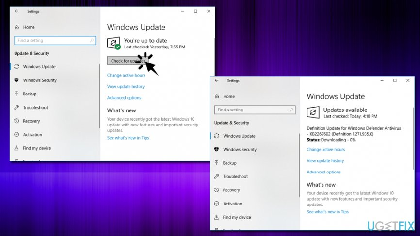 Update Windows OS
