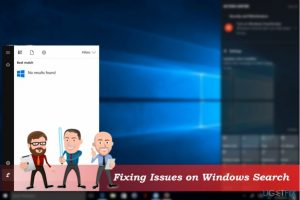 """How to fix """"No results found"""" on Windows 10 Search?"""