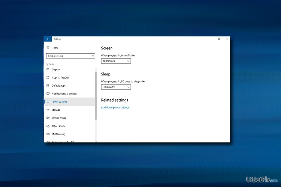Windows Sleep mode issues might be related to Hibernate function
