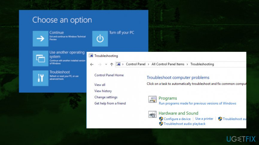 Windows 10 error fix