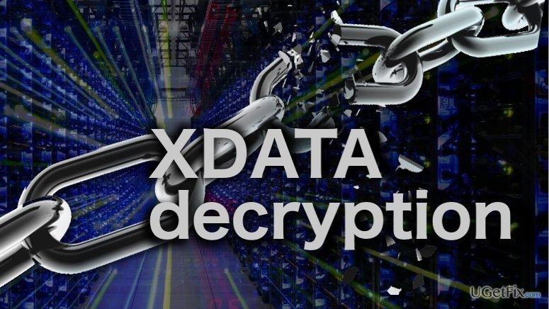 Image of the XDATA decryption