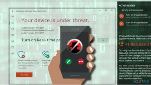 """How to remove """"Your device is under threat"""" pop-up?"""