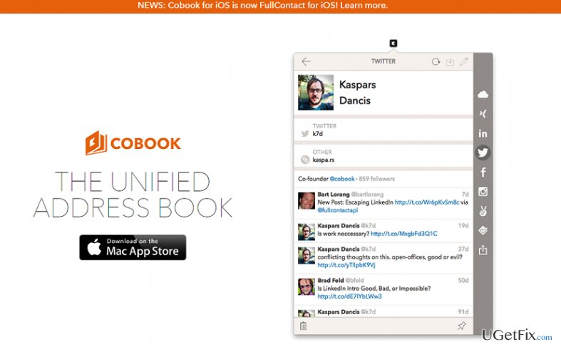 How to uninstall Cobook on Mac OS X?