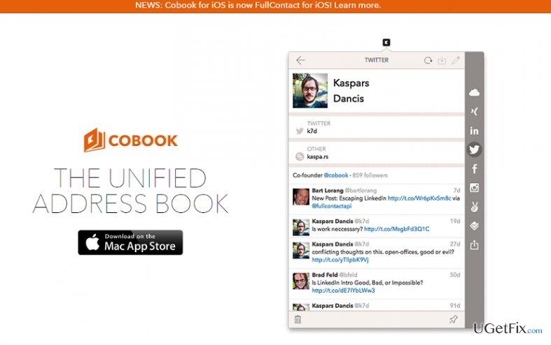 Cobook snapshot