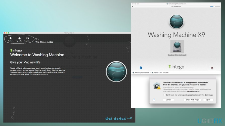 Mac Washing Machine X9