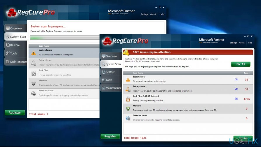 regcure pro download