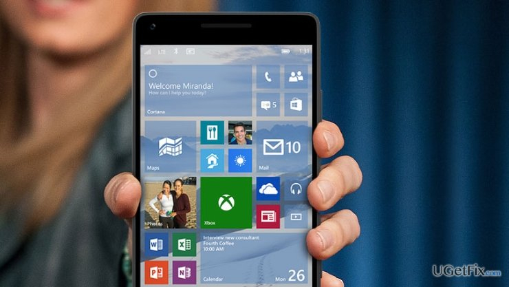 A first look at Windows 10 Mobile revealed that it's missing crucial apps snapshot